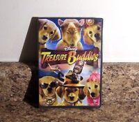 Disney Treasure Buddies (dvd, 2012) Sealed