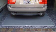 Park Smart Clean Park Garage Floor Mat 60714 7.5' x 14' Gray Color Mat 20 Mil