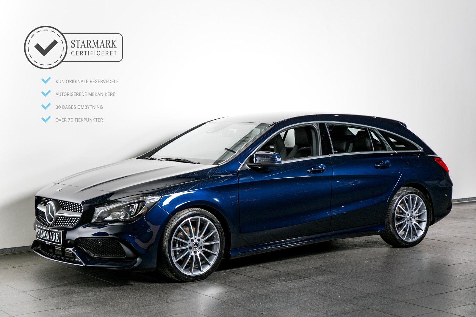 Mercedes CLA200 1,6 AMG Line SB aut. 5d - 409.900 kr.