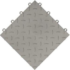 Garage tiles do it yourself diamond gray usa made ebay image is loading garage tiles do it yourself diamond gray usa solutioingenieria Image collections