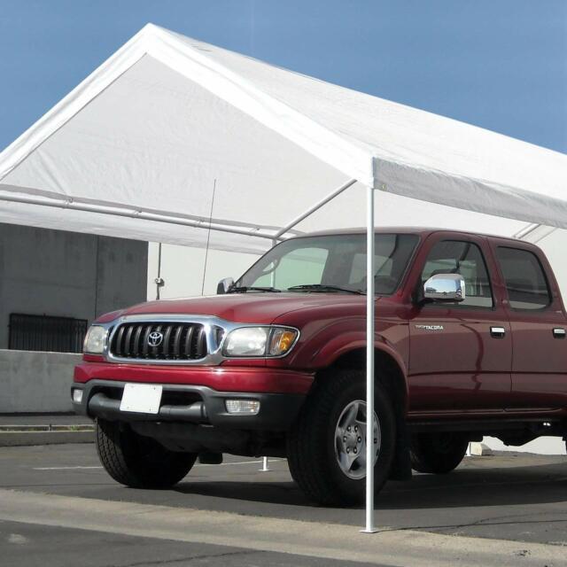 Heavy Duty 10x20' Carport Canopy Tent Caravan Portable ...
