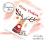 Christmas Scratch Off Surprise Card Hidden Message Card Personalised Xmas Card