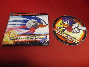 Details about Sonic the Hedgehog The Sound of Speed Overclocked Remix Album  Music CD *RARE*