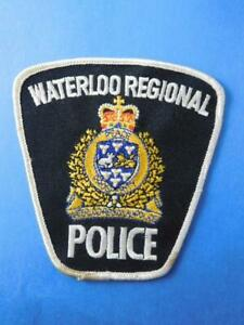 CITY-OF-WATERLOO-MUNICIPAL-LAW-ENFORCEMENT-OFFICER-PATCH-VINTAGE-BADGE-CANADA