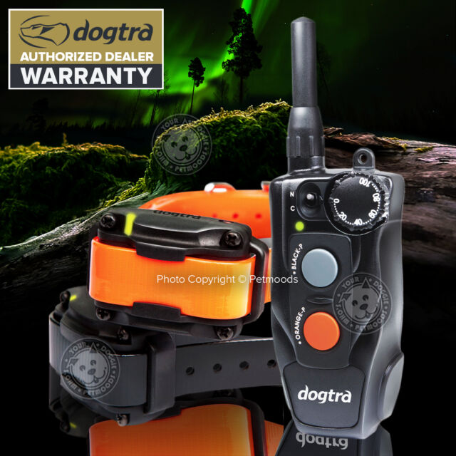 Dogtra 202C 2-Dog Compact Remote Dog Training Collar System 1/2-Mile Waterproof