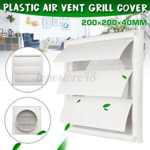 6-039-039-Exhaust-Fan-200mm-Gravity-External-Shutter-Wall-Air-Vent-Grille-Grill