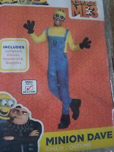 Despicable Me 3 Minion Dave Child Costume