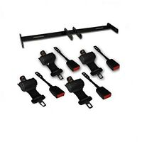 Golf Cart Retractable Seat Belt Kit For 4-seats Universal Club Car Ds Ezgo Txt