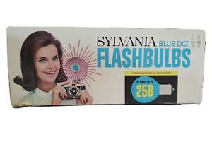 Vintage Sylvania Blue Dot Flash Bulbs 25B Flashbulbs 5 Bulbs