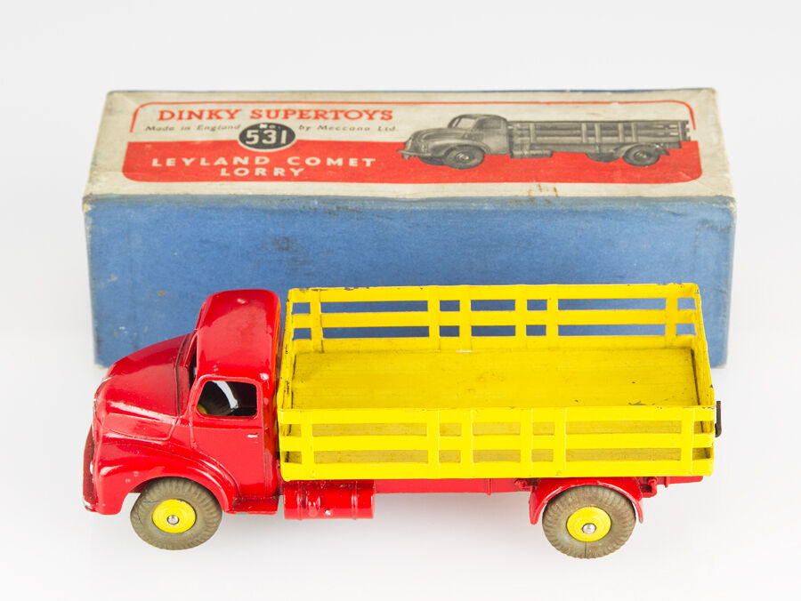 Dinky Toys Meccano Leyland Comet Lorry 531 Mint and Box