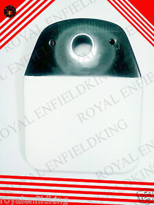 NEW-ROYAL-ENFIELD-EARLY-MODEL-WHITE-BLACK-REAR-LISENCE-NUMBER-PLATE
