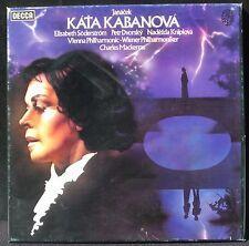 Janacek Kata Kabanova Mackerras Söderström Decca England 2 LP NM/M, BX NM -