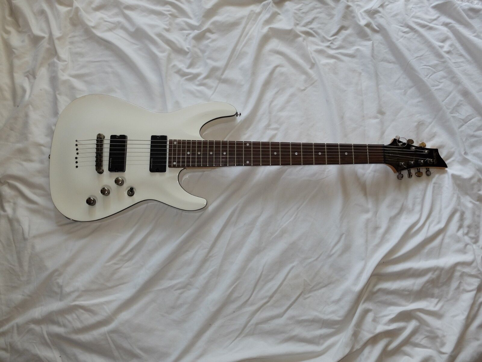 Schecter C-7 7 String Electric Guitar NICE