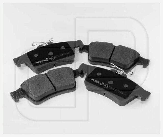 Bremsbeläge Bremsklötze OPEL Vectra C hinten | Hinterachse