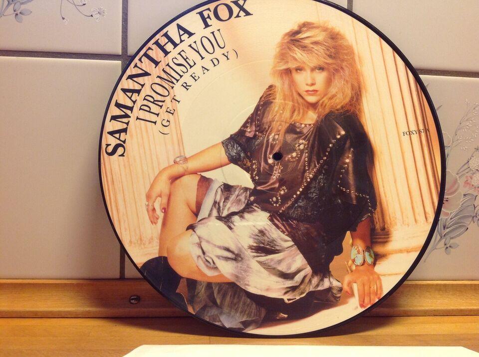 """Maxi-single 12"""", Samantha Fox, Promise you ( get ready) År"""