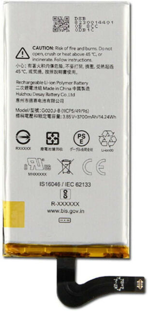 Replacement Battery-Compatible with Google Pixel 4 XL G020J-B