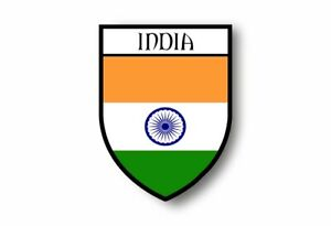 Stickers-decal-souvenir-vinyl-car-shield-city-flag-world-crest-india