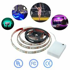 Simfonio Led Strips Lighting 1M 5V 30Leds Multicolored Waterproof 5050 SMD RGB L