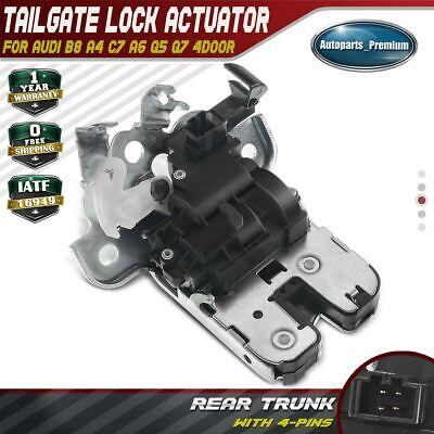 Audi A4 B8 A6 Avant A5 Q5 Q7 Trunk Tailgate Door Lock Latch Bootlid OE Mechanism