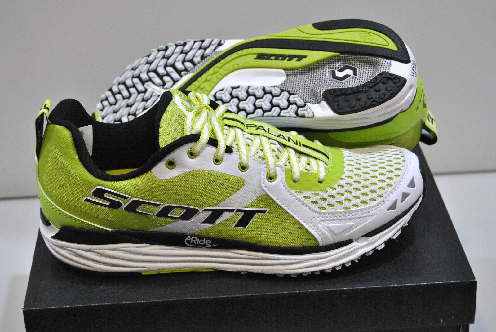 Zapatos Running SCOTT T2 PALANI 2.0 blanco verde zapatos T2 2.0 blanco G
