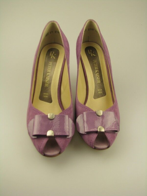 Exhibition Piece  Peter Kaiser open Toe Heels Fresia Leather Taille 6