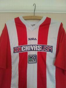 new arrivals 1d66b 51546 Details about Chivas USA Rare Official Soccer Football Shirt MLS •Size M•  Classic Retro Jersey