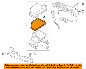 image is loading chevrolet-gm-oem-2016-volt-engine-air-filter-