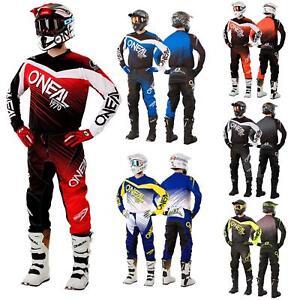 Elemento-oNeal-racewear-Jersey-pantalones-a-ninos-adulto-Motocross-Enduro-downhill