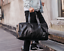 New-Mens-Black-Large-PU-Leather-Travel-Gym-Bag-Weekend-Overnight-Duffle-Handbag thumbnail 4
