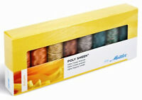 Mettler Quilting 100% Cotton Thread: Autumn Colors