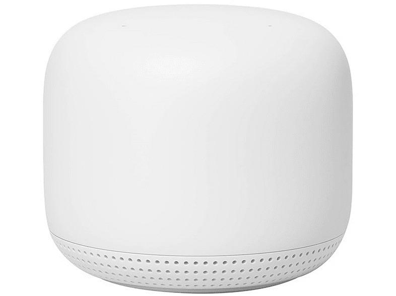 Router Google Mesh Nest WiFi Point, Punt WiFi,Altavoz,Micrófono,Asistente Google