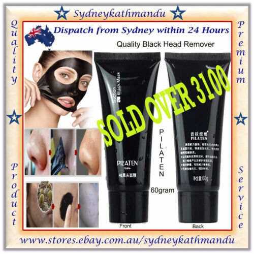 1 of 1 - PILATEN Blackhead Remover Pore Face Mask Cleansing Black Heads Strip Nose Tube A