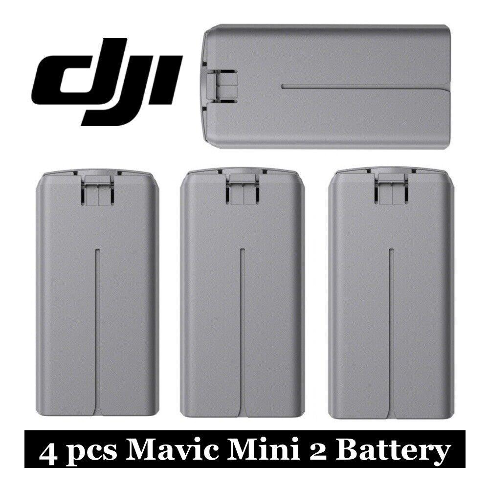 4 Four Genuine DJI Intelligent Flight Battery for Mavic Mini 2 Camera Drone NEW