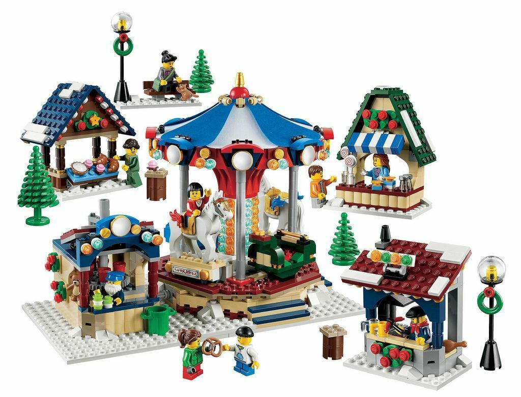 LEGO Holiday Christmas Rare 10235 Winter Village Market - New & Sealed Fast Ship