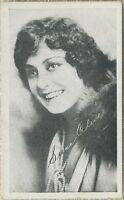Seena Oliver 1910s Kromo Gravure Trading Card - Silent Film Star