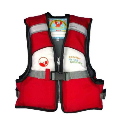 Kids Boys Girls Life Jacket Vest Swim Floating Kayak Buoyancy Aid Watersport SQ