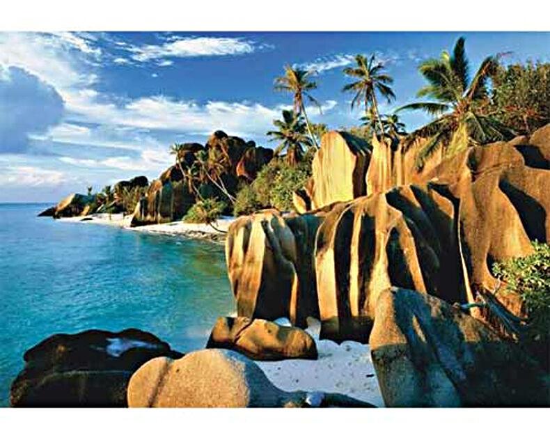 Trefl 26061. Puzzle 1500 parts. Seychelles beaches