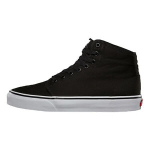 bd0055305d88 VANS 106 HI Black True White Canvas Casual Skate Discounted (485 ...