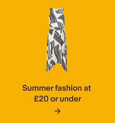 Summer fashion at £20 or under
