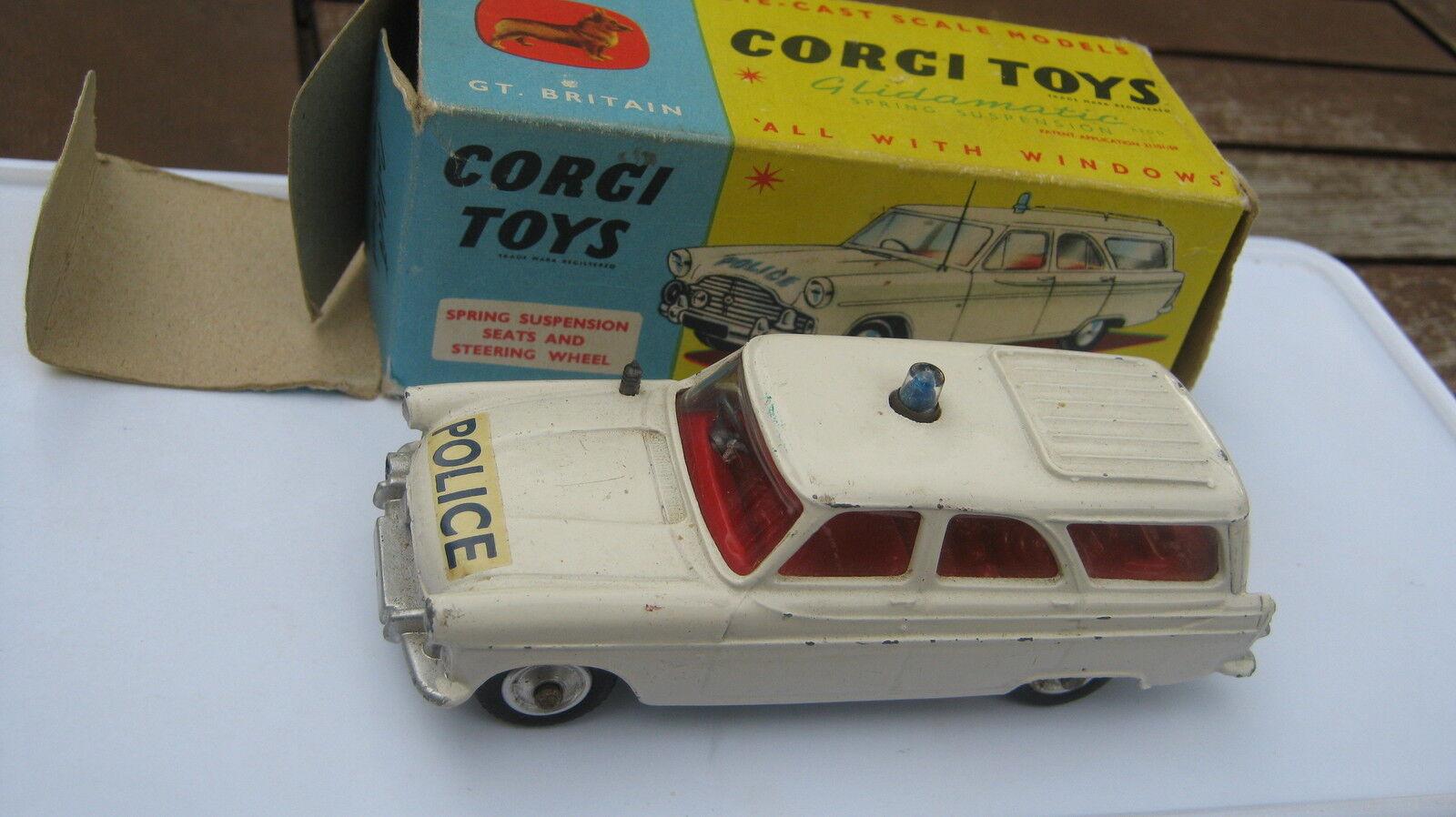 CORGI 419 FORD POLICE ZEPHYR ZEPHYR ZEPHYR GOOD ORIGINAL IN GOOD ORIGINAL BOX df1aa1