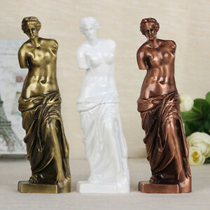 Classical Figure Figurine Sculpture of Venus de Milo Craft Statue Home Decor