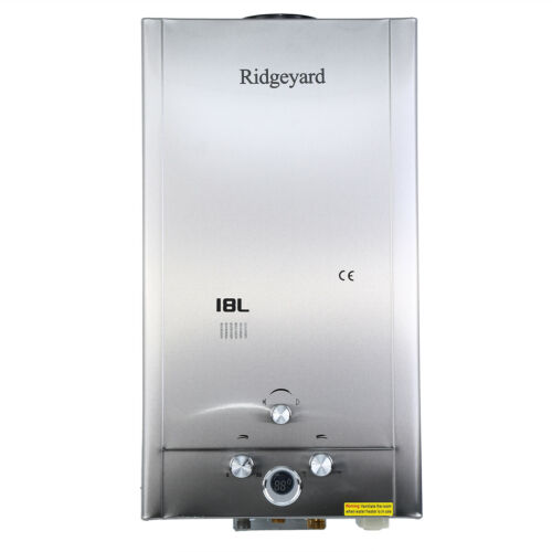 Scaldabagno a Gas LPG 18 Litri Pressione Gas 32KW Scalda-acqua istantaneo