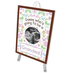 Guess Whos Going To Be A Grandma Ultrasound Sonogram Picture Frame