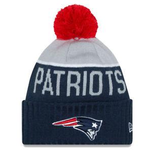 ffe0c958446d8 New England Patriots 2015 TOM BRADY New Era Sport Knit Winter Hat ...