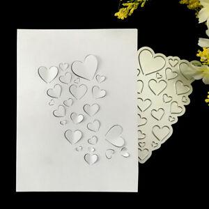 Liebe-Herz-Metall-Stanzformen-fuer-DIY-Scrapbooking-Papier-Kartenalbum