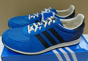 newest 77ab4 6b02d Image is loading deadstock-ADIDAS-ORIGINALS-ADISTAR-RACER-BLUE-BLACK-G63468-