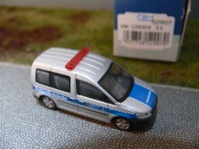 1//87 Rietze VW Caddy Mod.2011 Bus Polizei Karlsruhe 52907