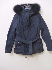 Burberry Brit Cloverdale Parka BLACK  Coat Jacket w/Warmer Size 10 EU40 MSRP S 1