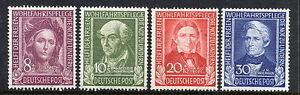 GERMANY-FEDERAL-REPUBLIC-1949-Charity-set-MNH