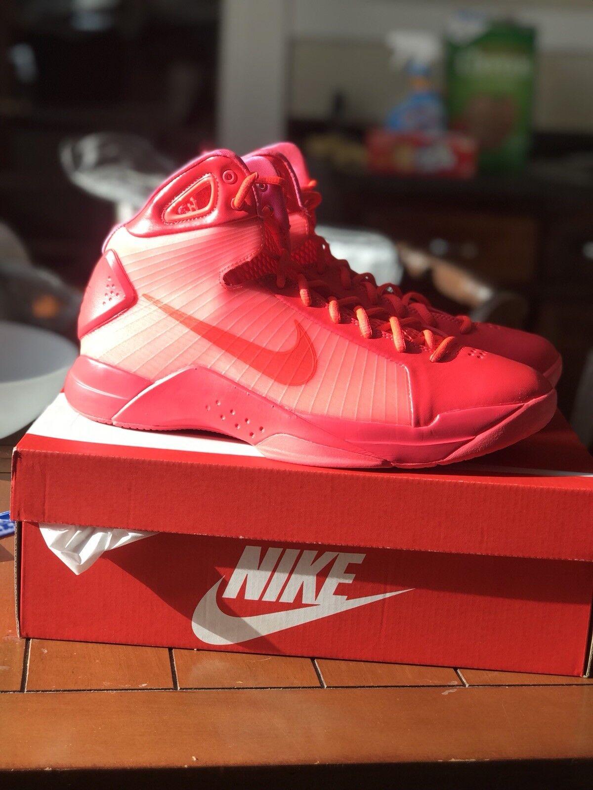 hot sales 2a934 85bab Men s Hyperdunk  08 Basketball shoes Red Retro Revival Size 10.5 Solar Nike  nyahzs1326-Men s Athletic Shoes